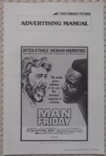 Man Friday, Original Pressbook + Bonus, Peter O'Toole, Richard Roundtree, '75